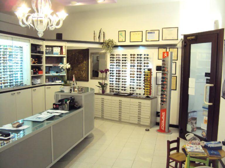Stilottica | Interno negozio
